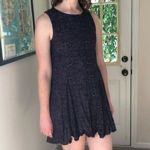 Black dress funky and unique